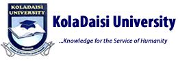 Kola Daisy University Application Form